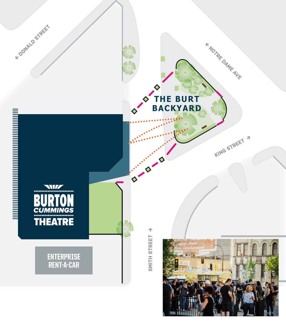 The Burt Backyard - Burton Cummings Theatre for the ...